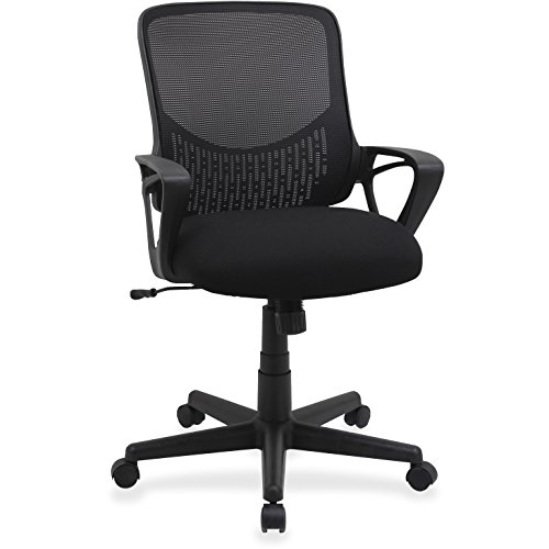 Lorell LLR99846 Mesh Mid-Back Task Chair by Lorell