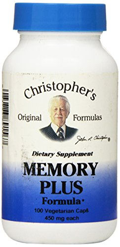 Dr Christophers Formula Original Memory Plus, 100 Count