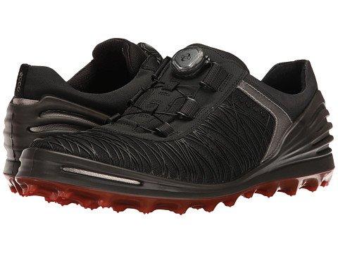 (エコー) ECCO メンズゴルフシューズ靴 Cage Pro Boa [並行輸入品] B06ZZ751P7 44 (US Men's 10-10.5) (n/a) D - M ブラック