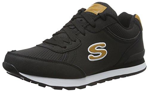 Skechers Originals OG 82 Smooth Movez, Zapatillas de Deporte Para Mujer Negro (Blk)