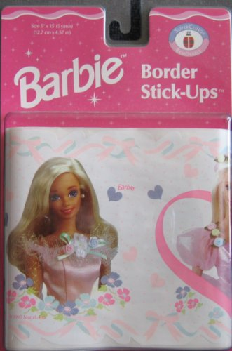 Barbie Border Stick Ups - Decorate a Room in Minutes! (1997)