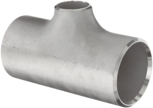 Stainless Steel 316/316L Pipe Fitting, Reducing Tee, Schedule 10, 1