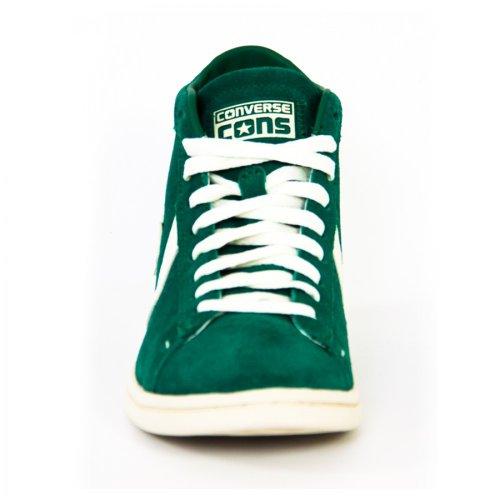 Converse Pro Leather Lp Mid Suede 131212c Homme Chaussures Vert