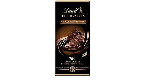 Lindt edelbitter Mousse chocoladen de Salvaje, 70% cacao - 150 g - 6 x: Amazon.es: Salud y cuidado personal