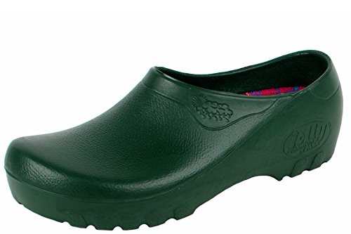 Alpro Synthetic-Clogs ''Jolly Fashion'' from Polyurethane in Green Green