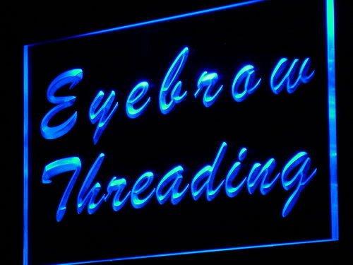 Eyebrow Threading Beauty Salon LED Sign Neon Light Sign Display j117-b(c)