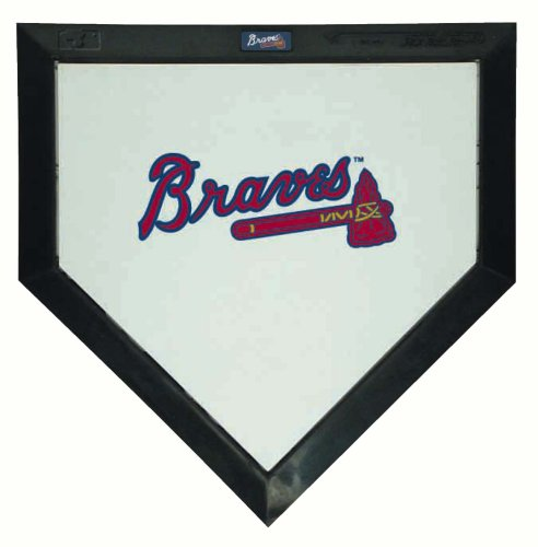 MLB Atlanta Braves Mini Home Plate (Mlb Atlanta Braves Home Accessories)