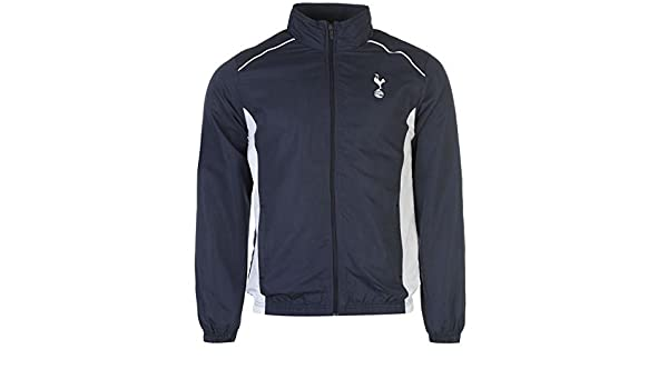 Tottenham Hotspur escudo chaqueta de chándal para hombre azul ...