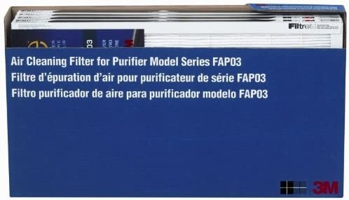 3M FAP03 Filtrete Air Cleaning Filter, 4 Pack by: Amazon.es: Hogar
