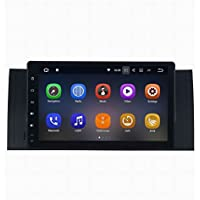 SYGAV Android 7.1.1 Radio for BMW X5 E39 E53 M5 Car Stereo Touch Screen 9 Inch 2G Ram GPS Sat Navigation Head Unit Bluetooth FM/AM/RDS/WiFi/USB/SD/Mirrorlink