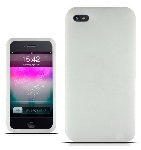 Silicone Case for iPhone 4G (Clear)
