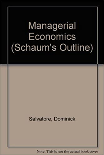 Schaums outline of theory and problems of managerial economics schaums outline of theory and problems of managerial economics schaums outlines 9780070545137 economics books amazon fandeluxe Choice Image