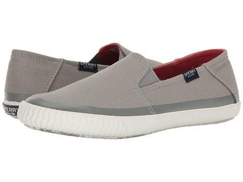 (スペリートップサイダー) SPERRY TOPSIDER レディースウォーキングシューズ?カジュアルスニーカー?靴 Sayel Dive Canvas Grey 5.5 22.5cm M (B) [並行輸入品]