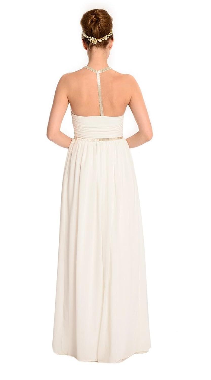 Amadeo Neckholder Backless Sexy Long Evening Dresses LF064