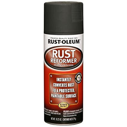 Rust-Oleum Automotive 248658 10 25-Ounce Rust Reformer Spray, Black