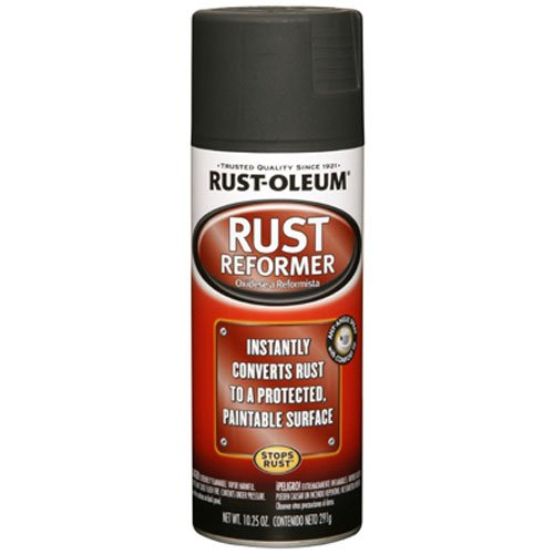 - Rust-Oleum Automotive 248658 10.25-Ounce Rust Reformer Spray, Black