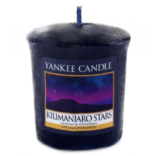 YANKEE CANDLE 1344796E Bougie Votive L' Étoile du Kilimandjaro Combinaison Bleu 4,6 x 4,5 x 5 cm 49 g B00YPB29N6