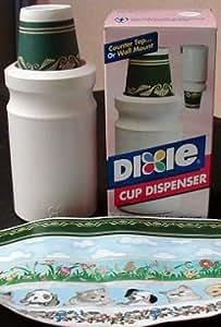 Amazon Com Dixie Wall Mount Bathroom Cup Dispenser Amp Cups