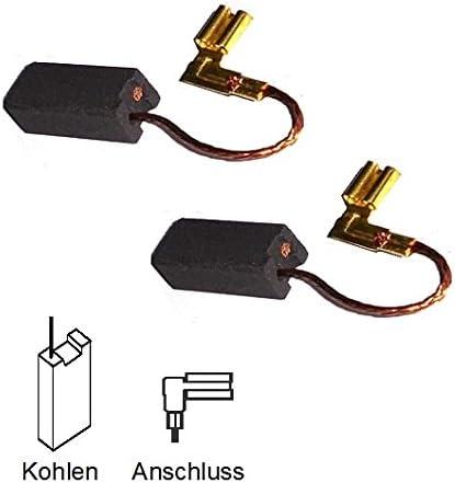 Motorkohlen Kohlestifte 4382 8382 2x Kohlebürsten für Metabo Hobel 3360