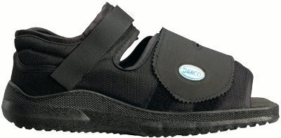 Complete Medical Darco Med-Surg Shoe Black Square-Toe WoMen's, Medium, 0.6 Pound from Complete Medical
