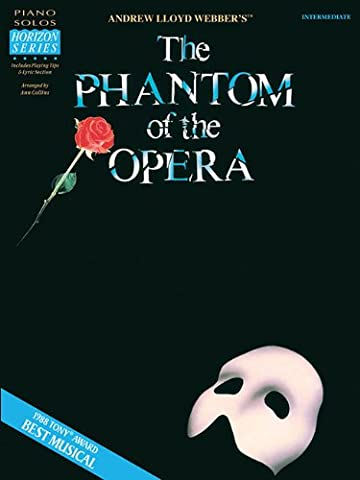 Phantom of the Opera Intermediate Piano Solos - Broadway Classical Sheet Music