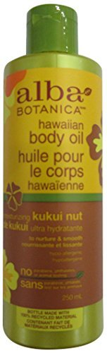 Kukui Nut - Alba Botanica Hawaiian, Kukui Nut Body Oil, 8.5 Ounce