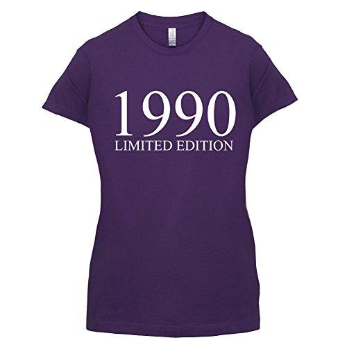 1990 Limierte Auflage / Limited Edition - 27. Geburtstag - Damen T-Shirt - Lila - L