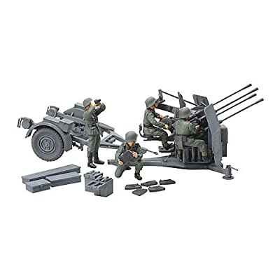 Tamiya 300032554–1: 48WWII German Flak VIERLING 3820mm (4): Toys & Games [5Bkhe1406186]