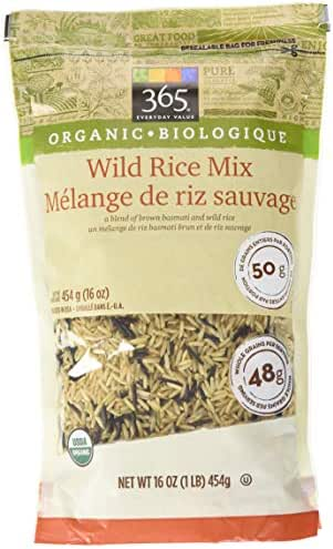 Rice: 365 Everyday Value Organic Wild Rice Mix