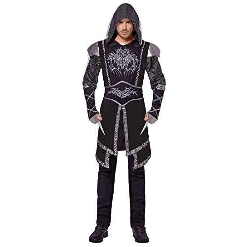 NET TOYS Disfraz Caballero Assassinen - Negro M (ES 50 ...