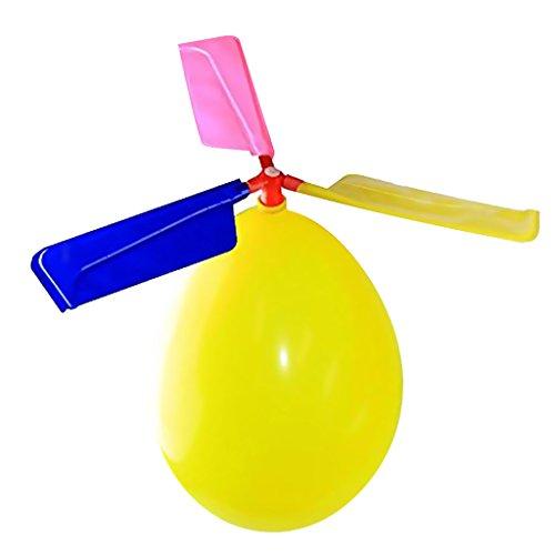 Perfk 子供 ギフト バルーン ヘリコプター おもちゃ 赤ちゃん 知育玩具 教育玩具 ランダムな色 13.5*3.8の商品画像