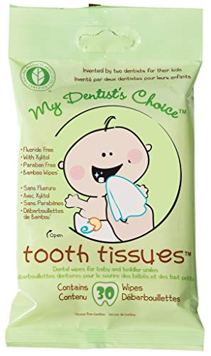 My Dentist's Choice, Dental Wipes, Baby Tooth and Gum Wipes for Baby and Toddlers - 1-Pack