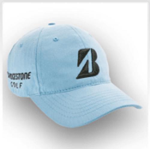 Bridgestone Golf Tour Relax Cap - Light Blue