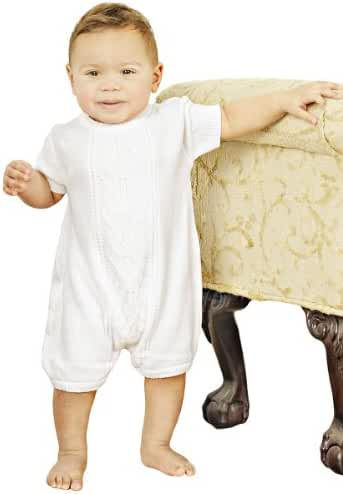 Braeden Knit Christening Baptism Blessing Outfit for Boys
