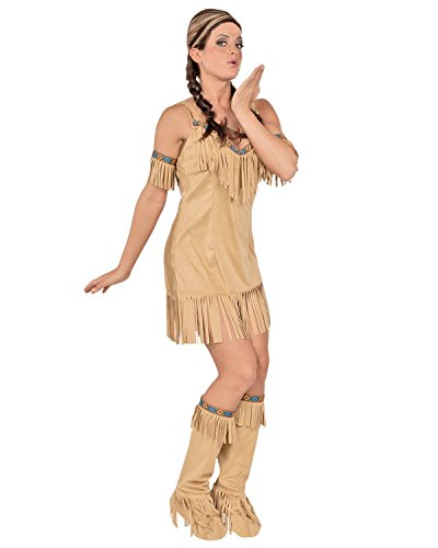 Sexy Indian Princess Theatre Costumes Native American Indian Costume Pocahantas Sizes: Large