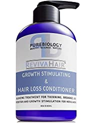 Hair Growth Stimulating Deep Conditioner with Biotin, Keratin & Breakthrough Anti Hair Loss Complex Treatment of Thinning, Dry, Damaged, Frizzy & Colored Hair for Men & Women