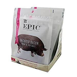 Epic Jerky Bites, 100% Natural, Bacon & Sea Salt, 2.5 ounce, 8 Count