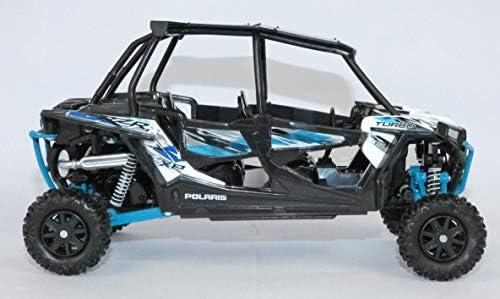 NewRay 1/18 スケールモデル Polaris RZR 4 Turbo XP チタニウム [並行輸入品]