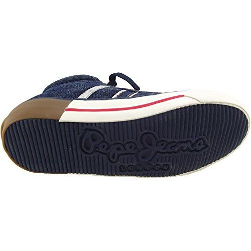 Pepe Jeans Serthi Boot Denim Jr PBS30300 Jungen Sneaker dunkelblau (denim)