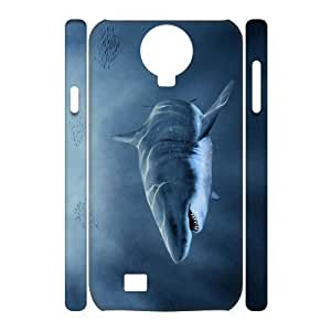 case Of Deep Sea Shark 3D Bumper Plastic Cell phone Case For Samsung Galaxy S4 i9500