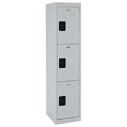 Sandusky Lee LF3B151866-MG 3 Tier Welded Steel Storage Locker, 66