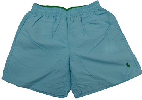 Ralph Lauren Bade-Boxershorts Hawaii - Hammond Blue
