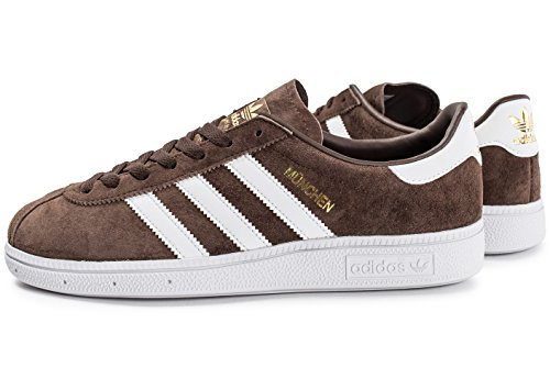 original sale high quality adidas Mens Munchen Suede Trainers Brown Footwear White sast for sale release dates for sale Inexpensive for sale 1pBPA