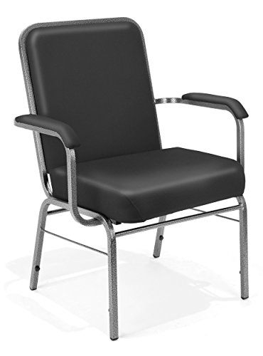 OFM 300-XL-V-4PK-606 Big and Tall Vinyl Guest Chair, 35