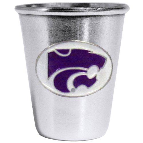 Siskiyou NCAA Kansas State Wildcats Steel Shot Glass ()