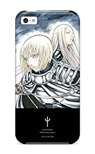 LJF phone case ipod touch 5 Claymore Print High Quality Tpu Gel Frame Case Cover