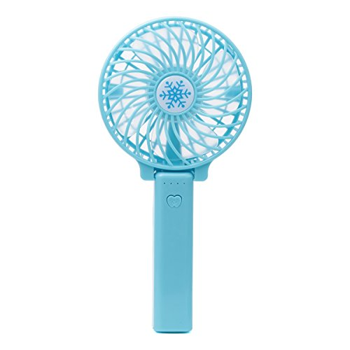 Stephenie Mini Handheld Fan VersionTech Foldable Personal Portable Desk Desktop Table Cooling Fan with USB Rechargeable Fan for Office Outdoor Household Traveling 3 Speed by Stephenie