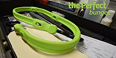36 The Perfect Bungee by BihlerFlex Safety Green AS36G Adjust-A-Strap Adjustable Bungee