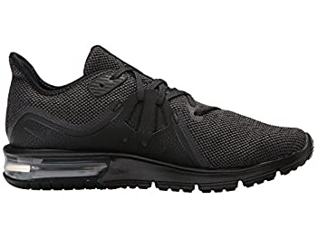 Nike Women Air Max Sequent 3 Running Shoe, Size 10, Blackanthracite 1