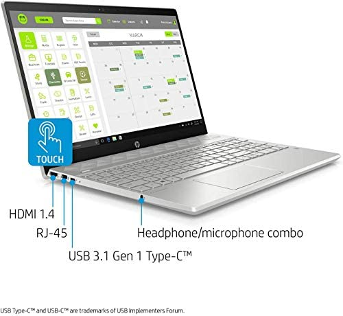 "HP PAVILION 15 BUSINESS LAPTOP COMPUTER, 10TH GEN INTEL QUAD CORE I5-1035G1, 15.6"" FHD IPS TOUCHSCREEN, 16GB RAM, 512GB NVME M.2 SSD, WIN 10 PRO, WI-FI 6, BLUETOOTH 5, WEBCAM, B&O AUDIO, USB-C, HDMI"